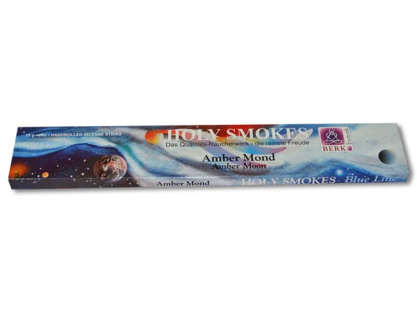 Holy Smokes Räucherstäbchen Amber Mond