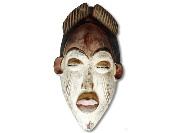 Maske der Ibo, Nigeria/Afrika 36cm
