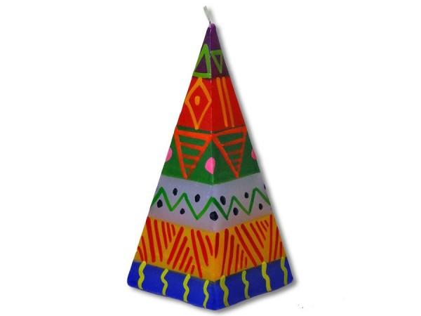 Shahida Pyramidenkerze 5cmx12cm