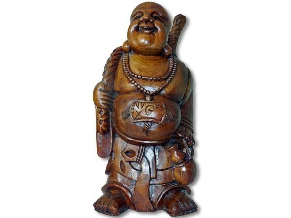 Buddha Akazienholz 60cm Handarbeit