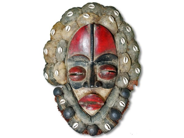 Maske der Dan Liberia/Afrika 40cm