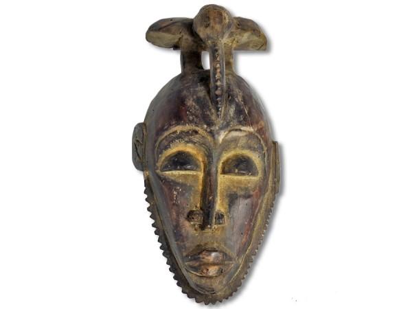 Yaure Maske Elfenbeinküste/Afrika 34cm