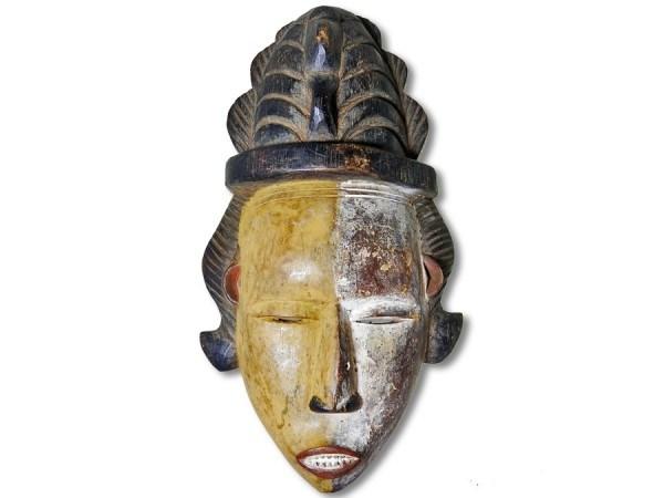 Ibo Maske Nigeria/Afrika 32cm