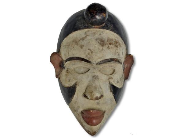 Bakongo Ritualmaske Kongo Afrika 32cm