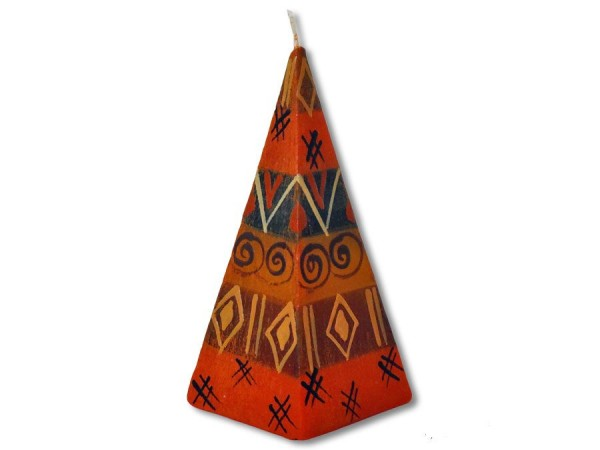 Pyramidenkerze Bongazi 5cm x 12cm