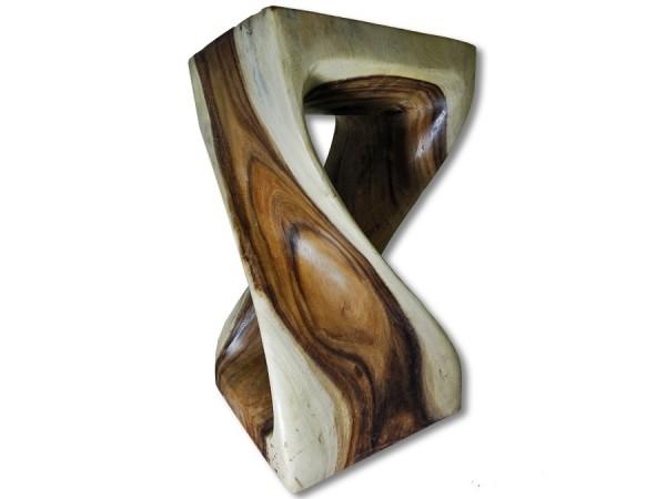 Beistelltisch Akazie gedreht 50cm