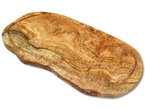 Tranchierbrett aus Olivenholz 40cm