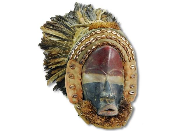Afrikanische Dan Maske 40cm