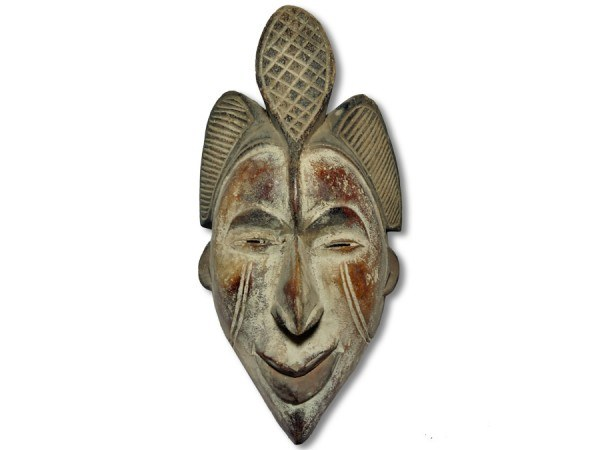 Maske der Ibo Nigeria/Afrika 34cm