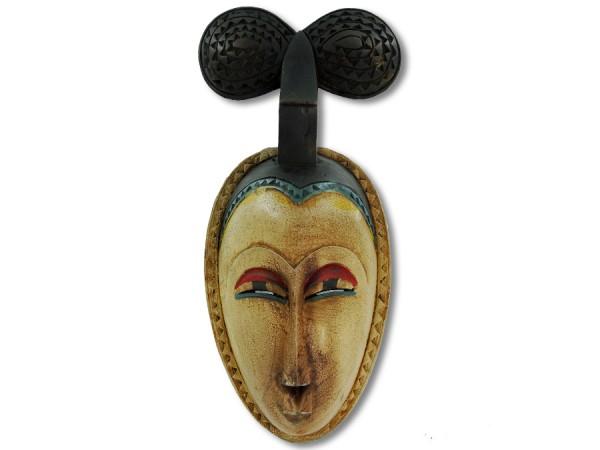 Maske der Baule Elfenbeinküste/ Afrika 43cm