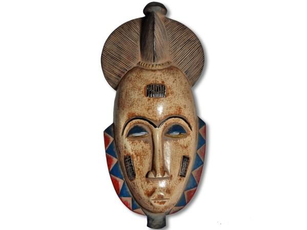 Maske der Baule Elfenbeinküste/ Afrika 39cm