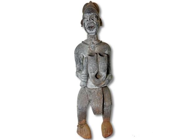 Figur der Igbo, Nigeria/Afrika 88cm