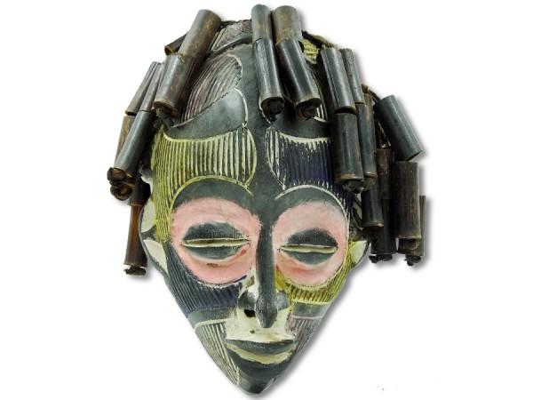 Maske Chokwe Kongo/Afrika bunt