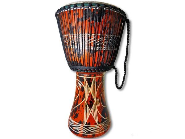Djembe Trommel Ghana 60cm orange