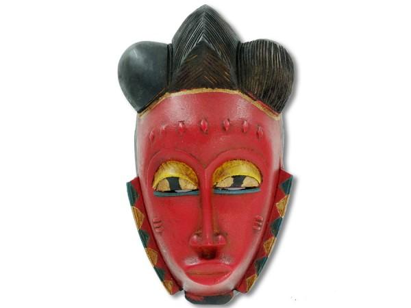Afrikanische Baoulé Maske 30cm