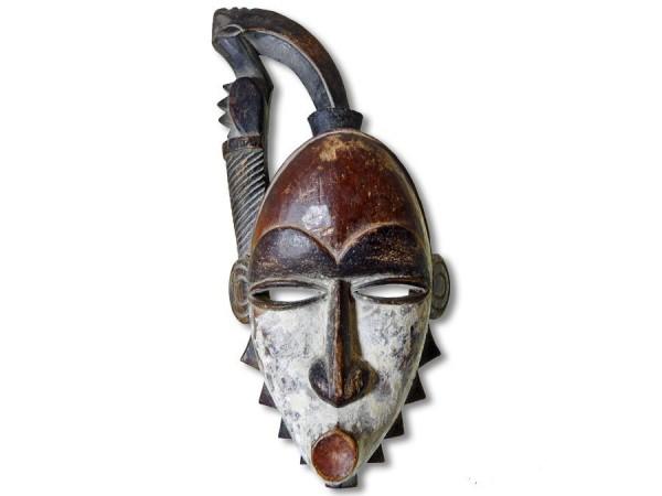 Yohure-Maske, Elfenbeinküste/Afrika 35cm