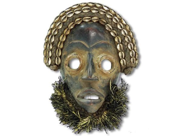 Maske der Dan Liberia/Afrika 33cm
