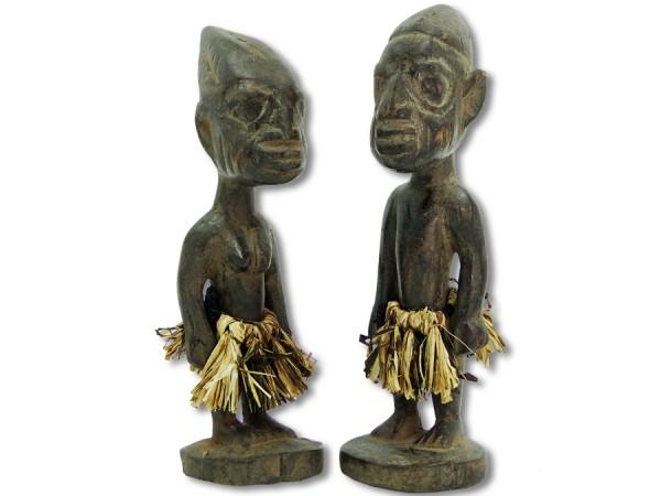 Figuren der Ibeji Nigeria/Afrika 24cm