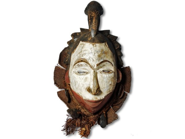 Maske der Ibo, Nigeria/Afrika 43cm