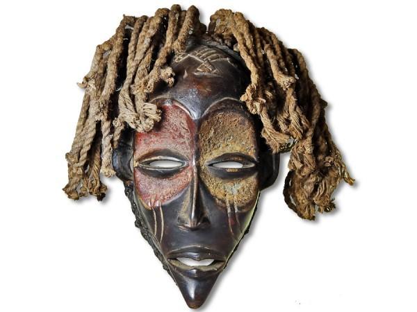 Maske Chokwe Kongo/Afrika 32cm