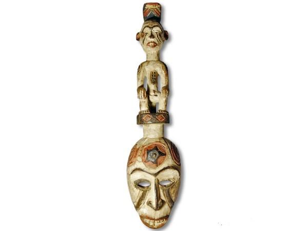 Ibo Maske Nigeria/Afrika 52cm