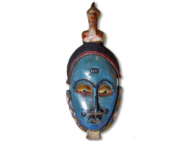 Guro Maske Elfenbeinküste/Afrika 36cm