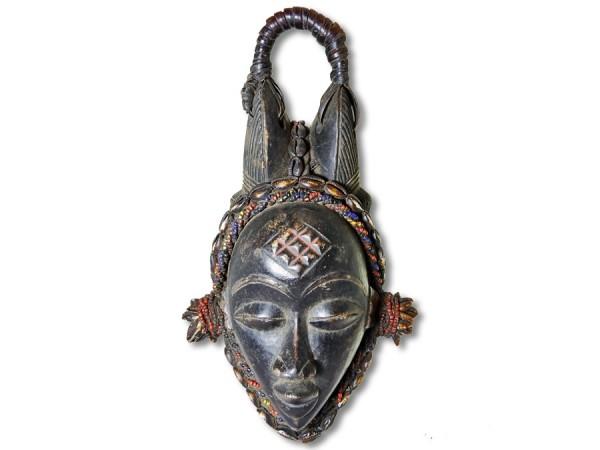 Afrikanische Maske der Punu Gabun/Afrika 36cm