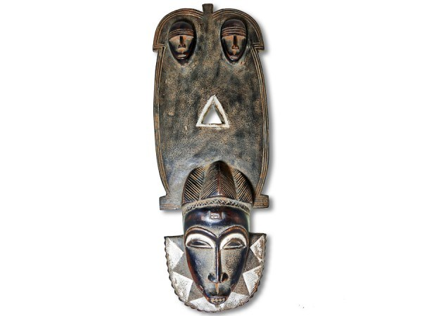 Baule Brettmaske Afrika 57cm