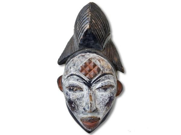 Maske Punu Gabun/Afrika 32cm