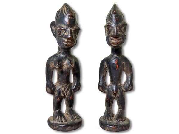 Ibeji Zwillinge der Yoruba 21cm