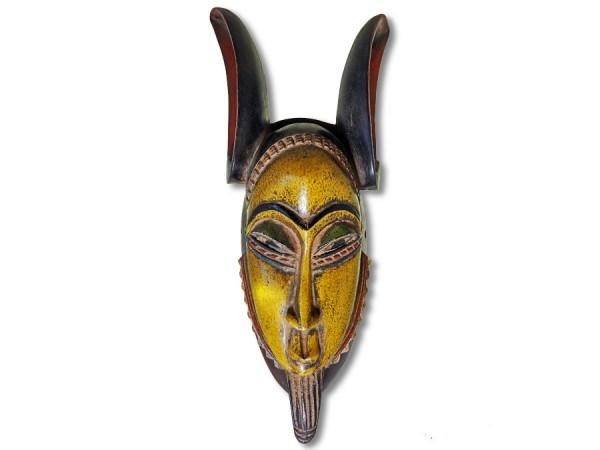 Baule Maske Afrika 45cm