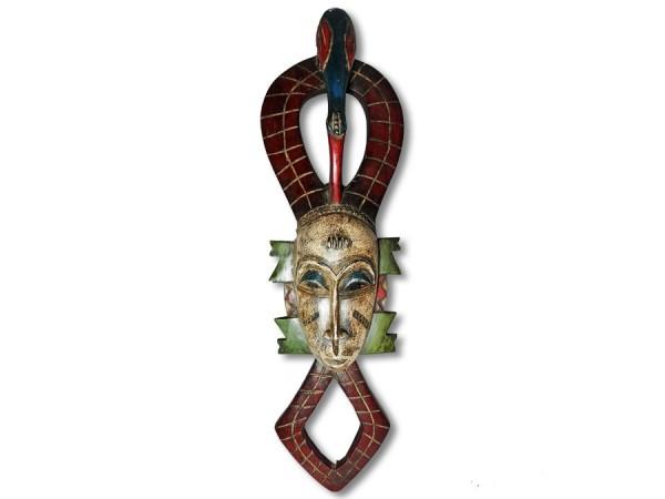Maske der Guro Elfenbeinküste / Afrika 68cm