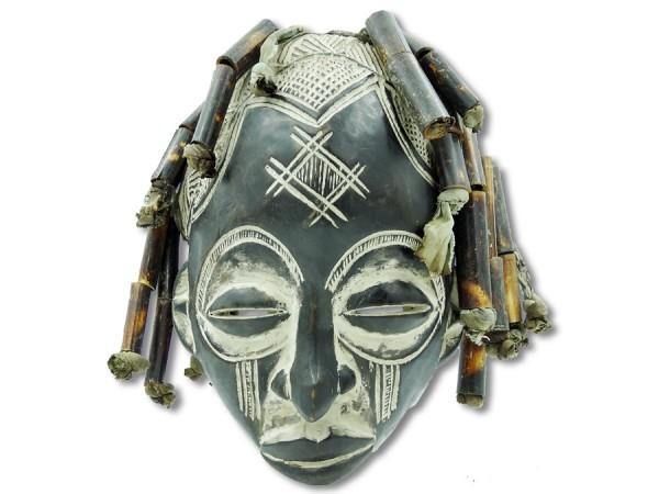 Maske der Chokwe DR Kongo/Congo Afrika 35cm