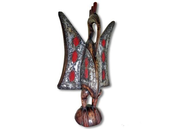 Kalao Vogel der Senufo 55cm