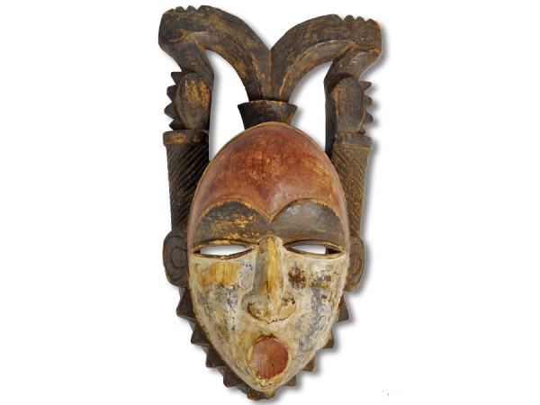 Yohure-Maske, Elfenbeinküste/Afrika 32cm