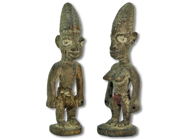 Ibeji-Zwillinge Nigeria/Afrika 22cm