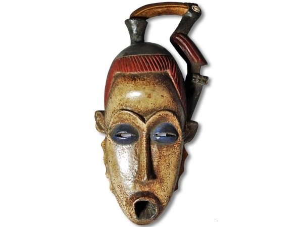 Yohure Maske Elfenbeinküste/Afrika 33cm