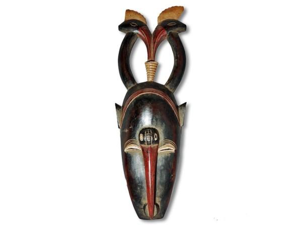 Yaoure Maske Elfenbeinküste/Afrika 40cm