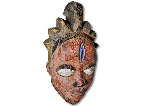 Maske der Yoruba Nigeria/Afrika 35cm