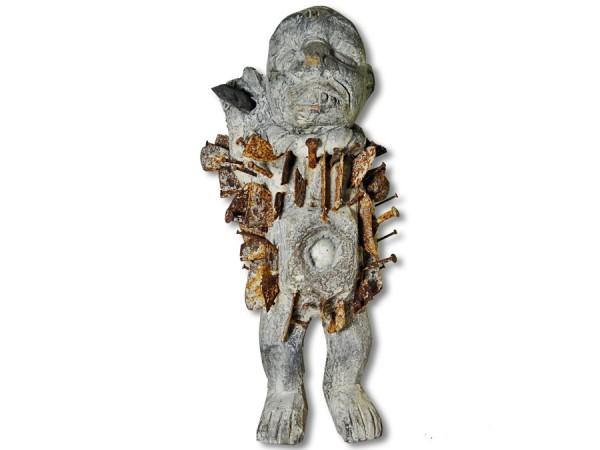 Schutzfetisch der Bakongo Afrika 36cm