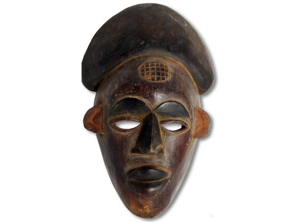Maske der Chokwe DR Kongo/Congo Afrika 38cm