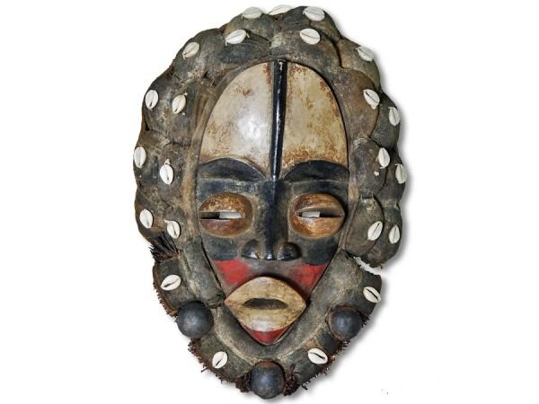 Maske der Dan Liberia/Afrika 42cm
