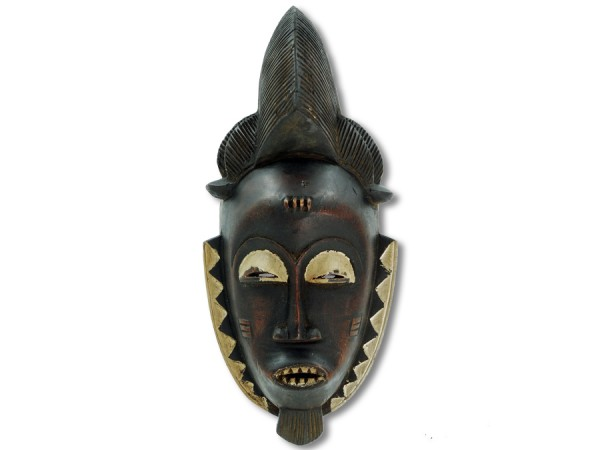 Baule Maske Afrika 40cm