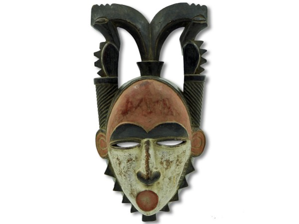 Yohure-Maske, Elfenbeinküste/Afrika 37cm