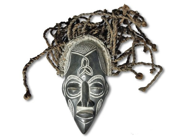 Maske der Chokwe DR Kongo/ Afrika 30cm