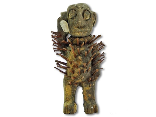 Schutzfetisch der Bakongo Afrika 19cm