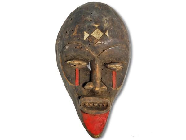 Maske der Chokwe DR Kongo/ Afrika 29cm