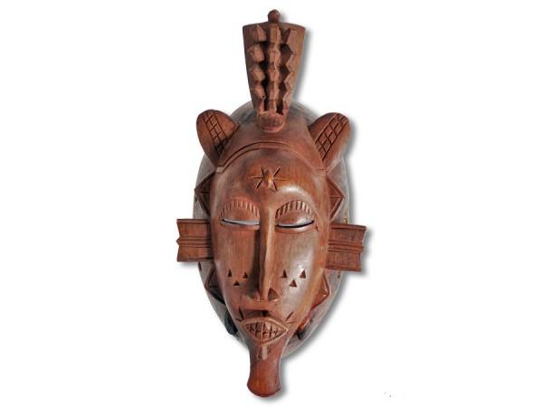 Maske der Senufo, Elfenbeinküste 28cm
