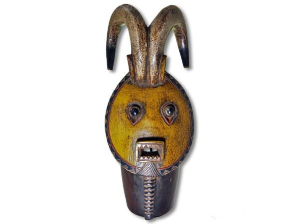 Baule Hornmaske Afrika 44cm