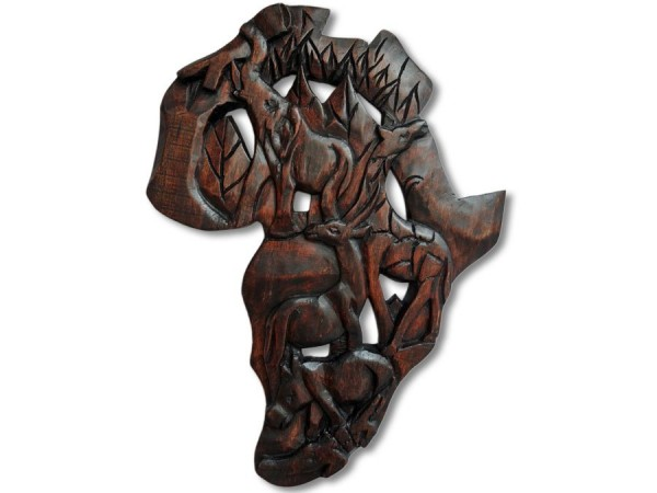Wandbild Tierwelt Afrikas 60cm 1